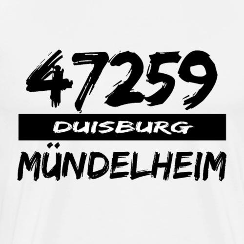 47259 Mündelheim Duisburg - Männer Premium T-Shirt