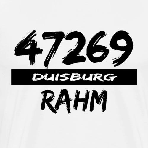 47269 Rahm Duisburg - Männer Premium T-Shirt