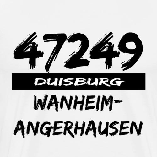 47249 Wanheim Angerhausen Duisburg - Männer Premium T-Shirt