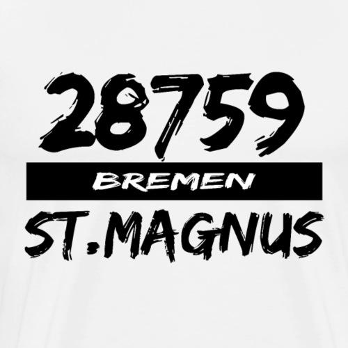 28759 Bremen St.Magnus - Männer Premium T-Shirt