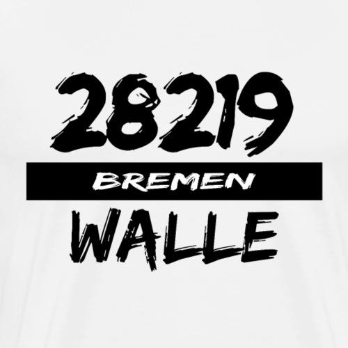 28219 Bremen Walle - Männer Premium T-Shirt