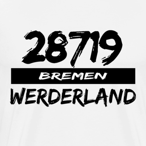 28719 Bremen Werderland - Männer Premium T-Shirt