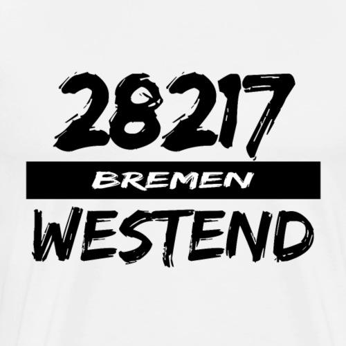 28217 Bremen Westend - Männer Premium T-Shirt