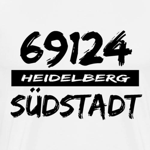 69124 Heidelberg Südstadt - Männer Premium T-Shirt
