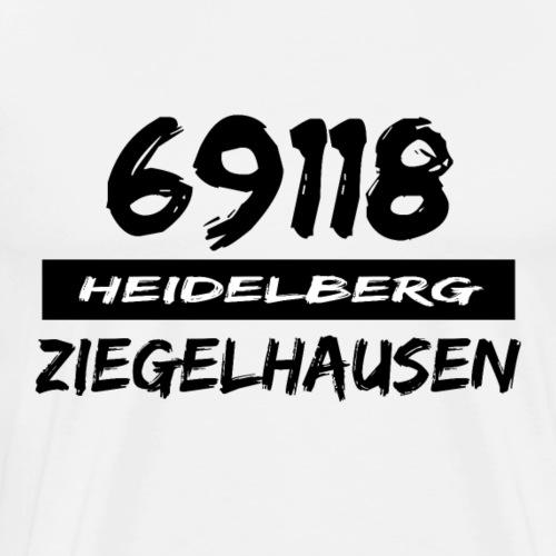 69118 Heidelberg Ziegelhausen - Männer Premium T-Shirt