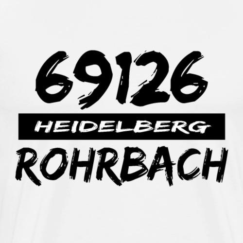 69126 Heidelberg Rohrbach - Männer Premium T-Shirt