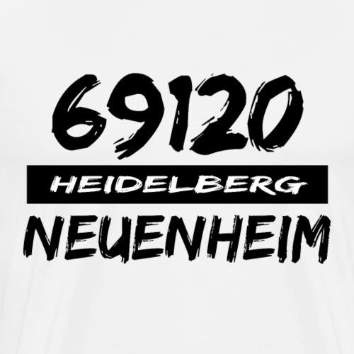 69120 Heidelberg Neuenheim - Männer Premium T-Shirt