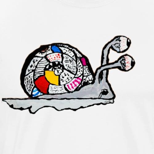 La fine lumaca dell'infanzia - Maglietta Premium da uomo