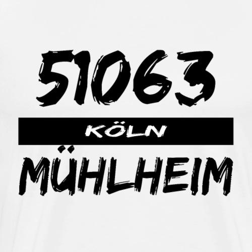 51063 Köln Mühlheim - Männer Premium T-Shirt