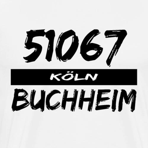 51067 Köln Buchheim - Männer Premium T-Shirt