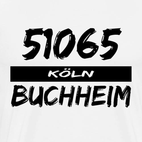 51065 Köln Buchheim - Männer Premium T-Shirt