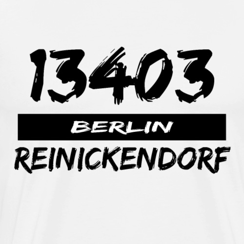 13403 Berlin Reinickendorf - Männer Premium T-Shirt