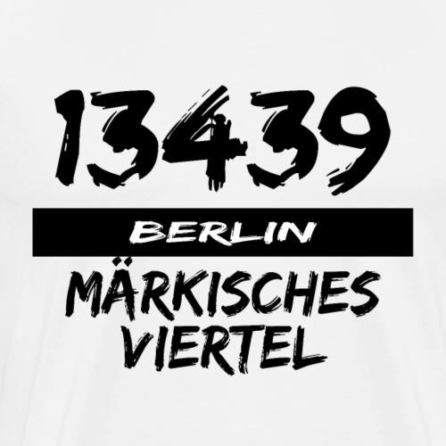 13439 Berlin Märkisches Viertel - Männer Premium T-Shirt
