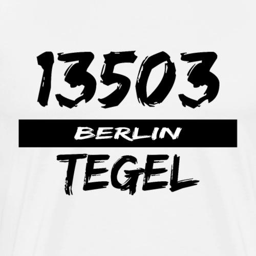13503 Berlin Tegel - Männer Premium T-Shirt