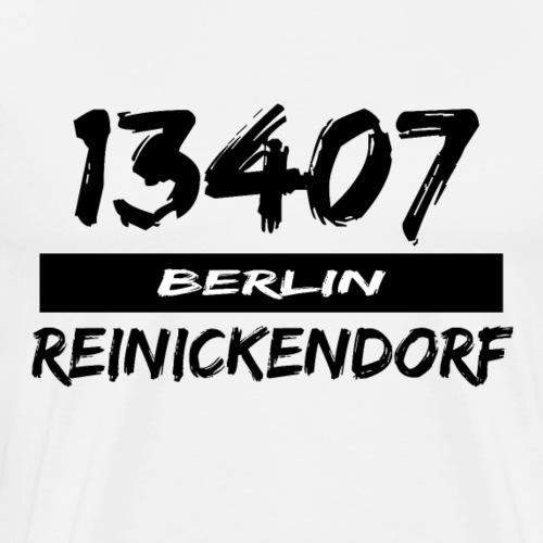 13407 Berlin Reinickendorf - Männer Premium T-Shirt