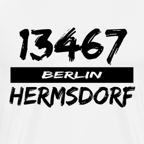 13467 Berlin Hermsdorf - Männer Premium T-Shirt