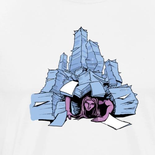 Artist life - Mannen Premium T-shirt