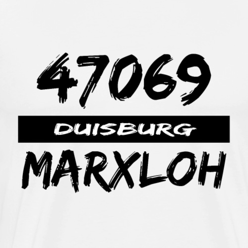 47069 Duisburg Marxloh - Männer Premium T-Shirt