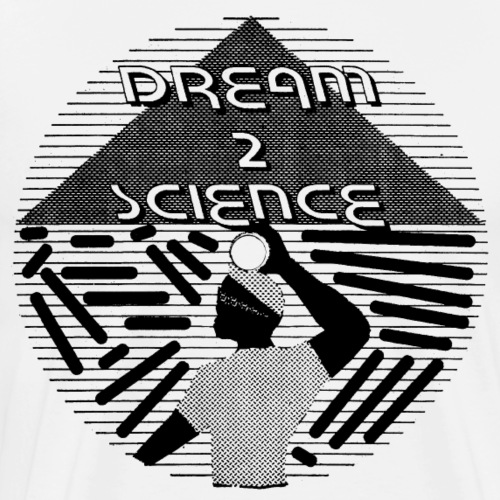 Dream 2 Science Original Art - Men's Premium T-Shirt