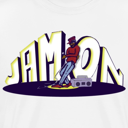 Jam-On Logo - Men's Premium T-Shirt