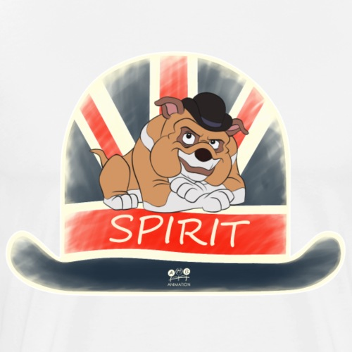 bulldog spirit - Men's Premium T-Shirt
