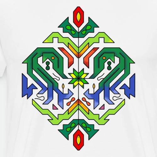 l étoile Mandala - Men's Premium T-Shirt