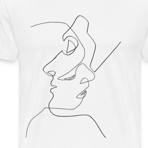 Silhouette - Camiseta premium hombre