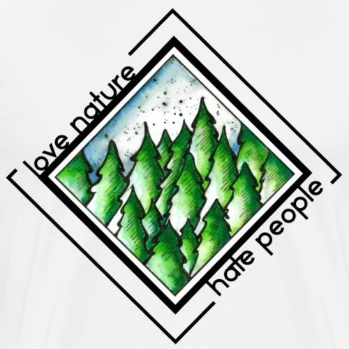 Love Nature - Männer Premium T-Shirt