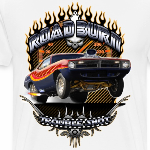Barracuda Road Burn - Men's Premium T-Shirt