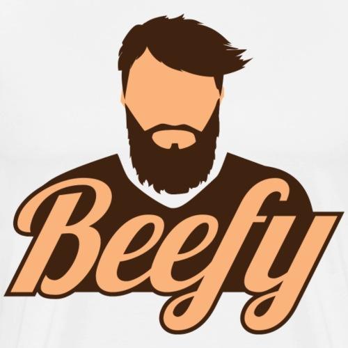 Beefy Beardy - Men's Premium T-Shirt