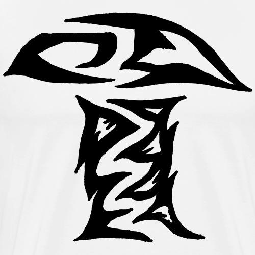 Pilztribal Pilz Tribal gezakt - Männer Premium T-Shirt