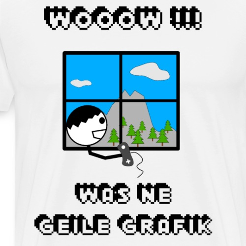 Gamer Shirt - Männer Premium T-Shirt