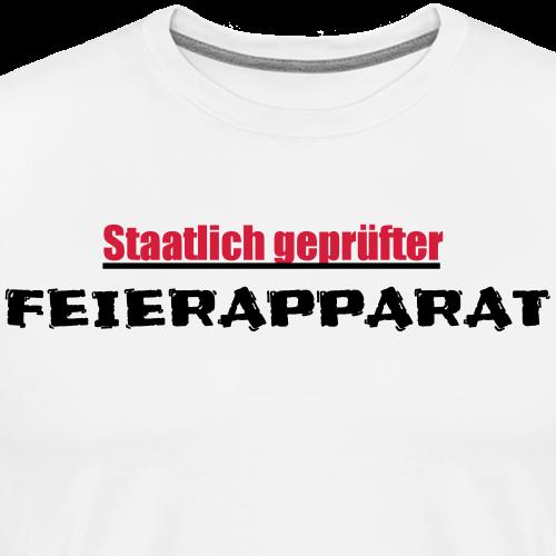 Feierapparat - Männer Premium T-Shirt