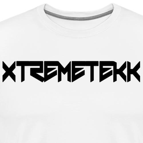 XTREMETEKK Nero Black - Männer Premium T-Shirt