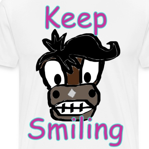 KeepSmiling - Männer Premium T-Shirt