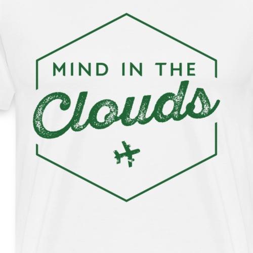 Mit den Gedanken in den Wolken sein - Männer Premium T-Shirt