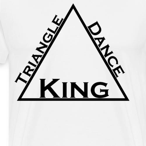Triangle Dreieck Dance Tanz King König - Männer Premium T-Shirt
