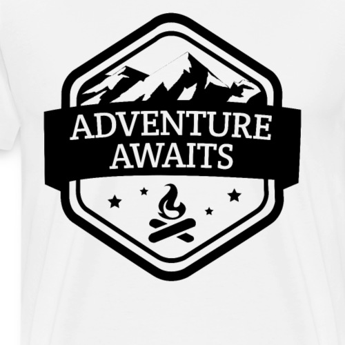 Adventure Awaits - Männer Premium T-Shirt