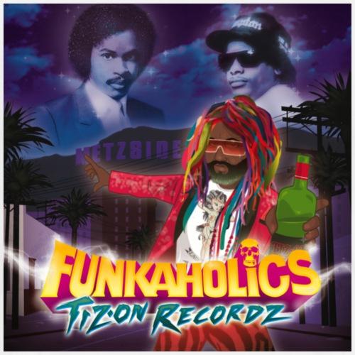 Funkaholics cover - T-shirt Premium Homme