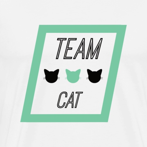 Team Cat - Slogan Tee - T-shirt Premium Homme