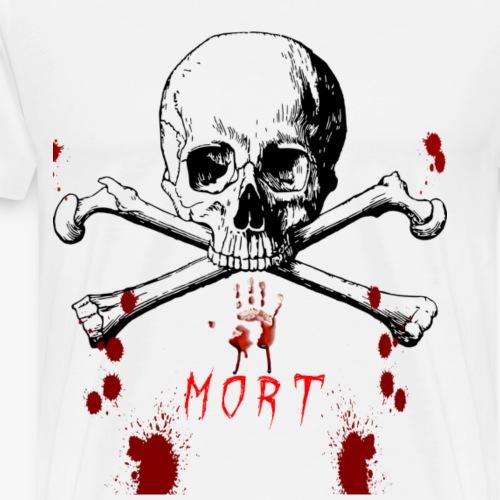 Mort design avec sang - T-shirt Premium Homme