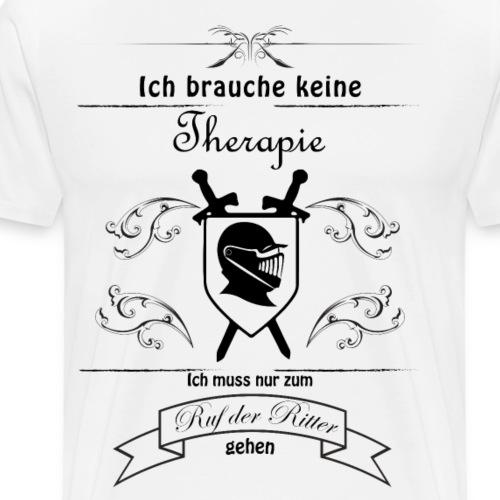 Ruf der Ritter - Männer Premium T-Shirt