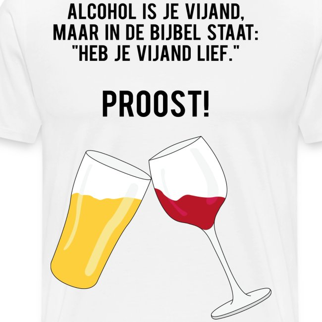 Alcohol is je vijand