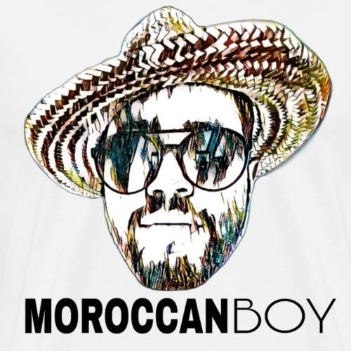 MOROCCAN BOY BLACK - T-shirt Premium Homme