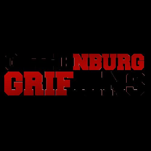 Gothenburg Griffins röd/svart - Premium-T-shirt herr