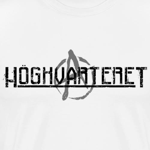 Svart - Premium-T-shirt herr