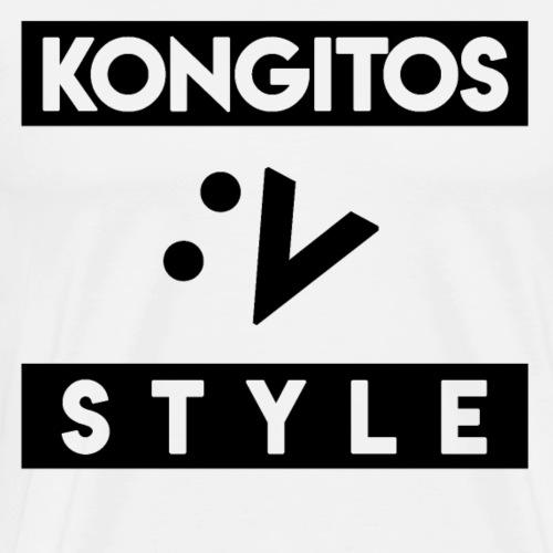 kONGITOS STYLE - Camiseta premium hombre
