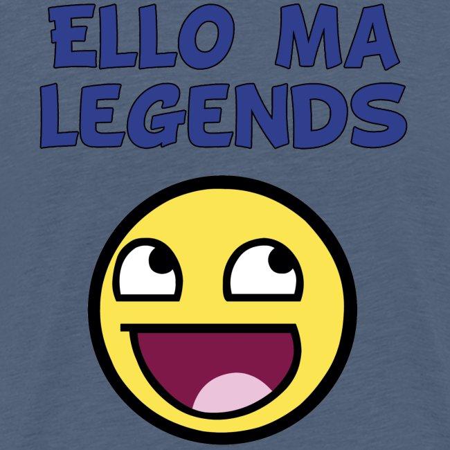 MA LEGENDS tshirt Done black fixed gif