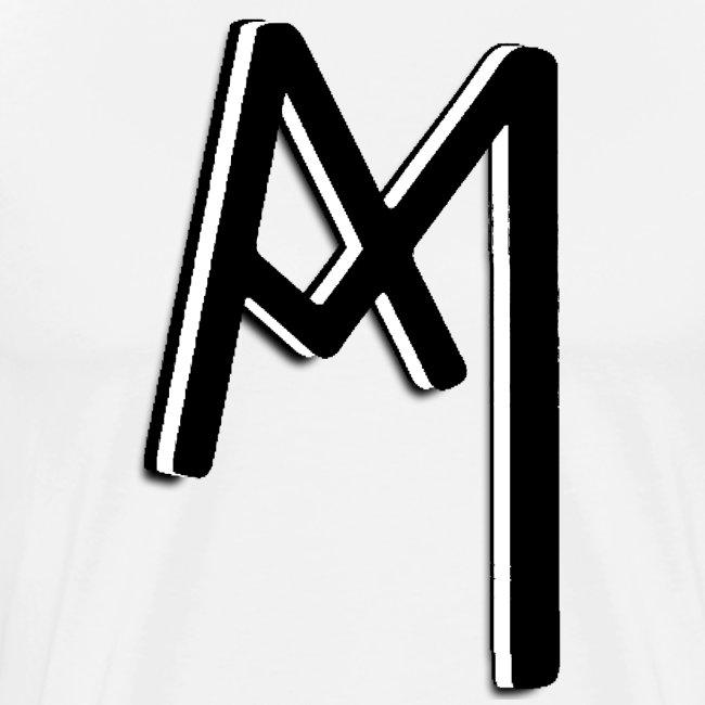 Monogram 3D Black png