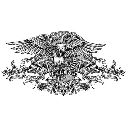 Adler Ueberflieger - Männer Premium T-Shirt